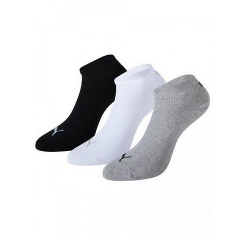 Ankle Sports Socks Puma SNEAKER (3 Pairs) Grey White Black