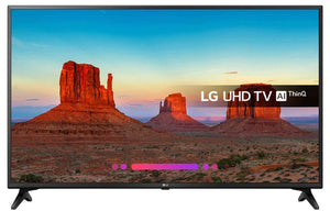 "Smart TV LG 49UK6200PLB 49"" LED UHD WIFI Black"