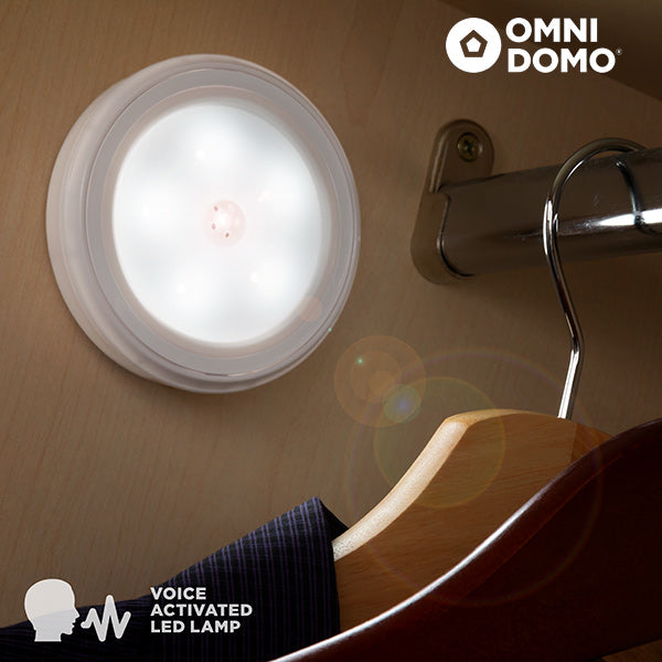 Voluma LED Spotlight with Voice Sensor