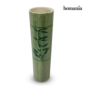 Vase Stoneware (9,5 x 9,5 x 38,5 cm) - Pure Crystal Deco Collection by Homania