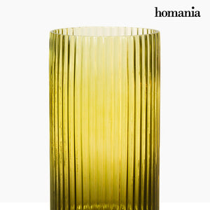 Vase (15 x 15 x 61 cm) - Pure Crystal Deco Collection by Homania