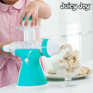 Juicy Joy Juice and Ice Cream Machine with Handle