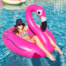 Load image into Gallery viewer, Wagon Trend Inflatable Flamingo Swim Ring