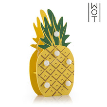 Load image into Gallery viewer, Wagon Trend Decorative Wooden Pineapple (6 LED)