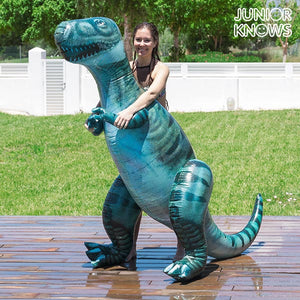 Junior Knows Giant Inflatable T-Rex Dinosaur