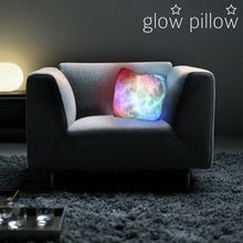 Load image into Gallery viewer, LED Lighted Glow Pillow
