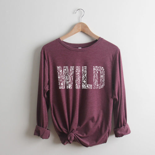Floral Wild Long Sleeve