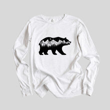 Load image into Gallery viewer, Midnight Bear Long Sleeve