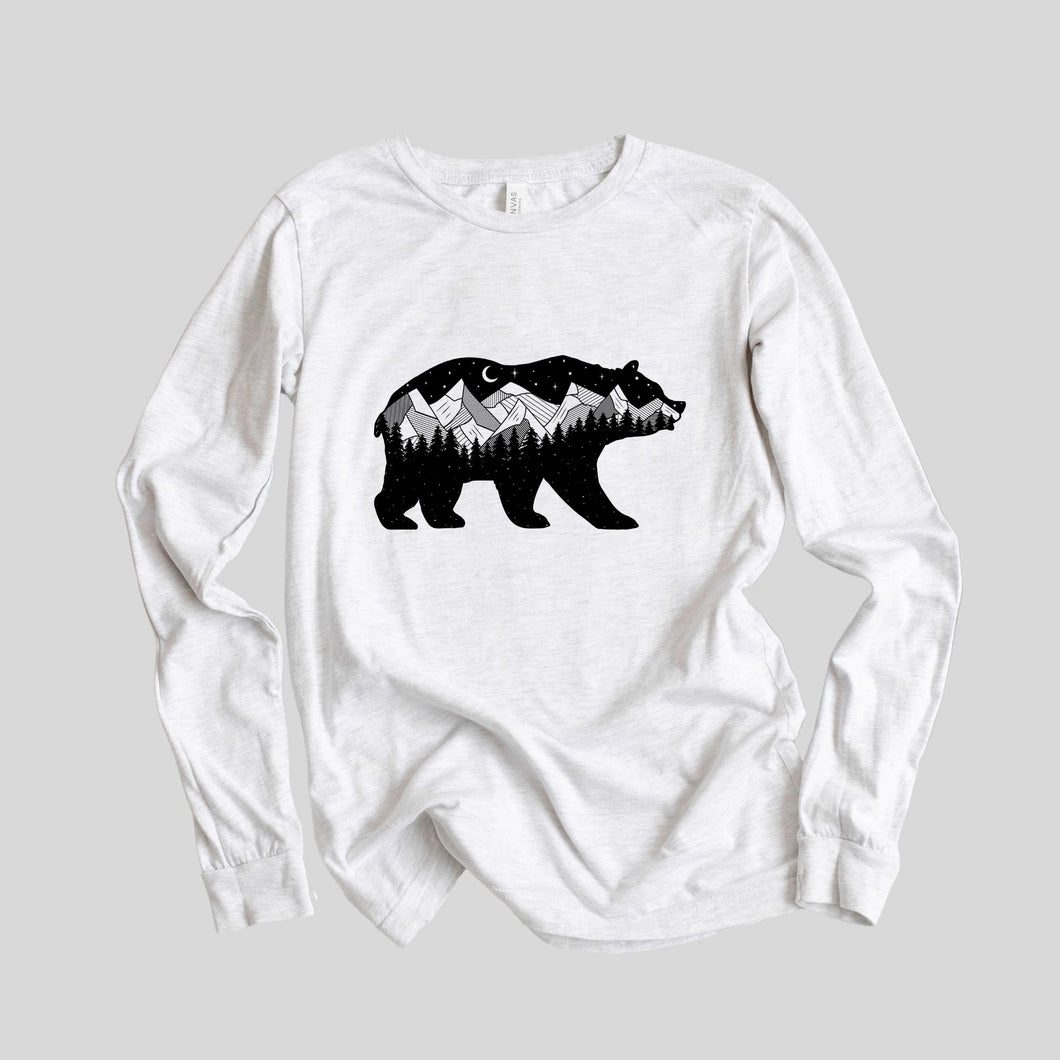 Midnight Bear Long Sleeve