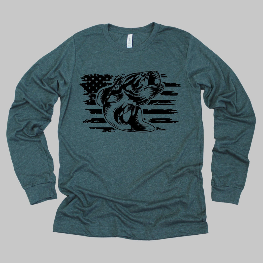 Fish Flag Long Sleeve