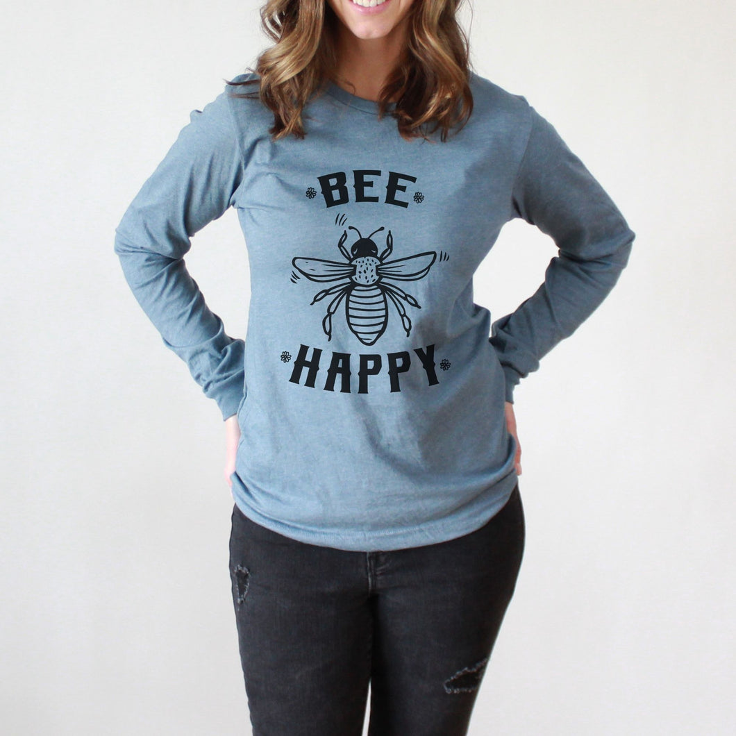 Bee Happy Long Sleeve