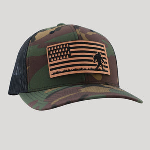 Patriotic Bigfoot Hat