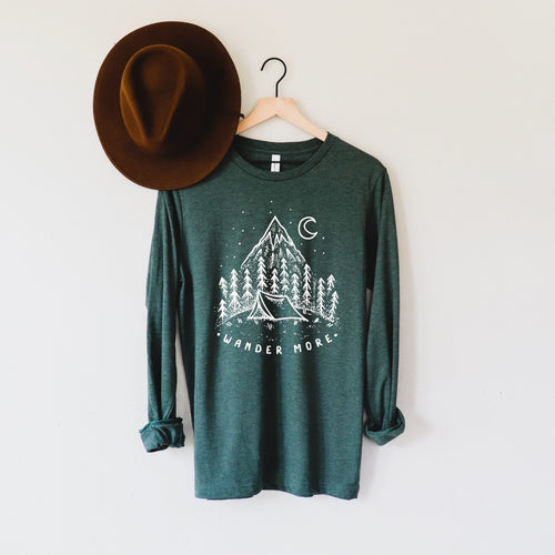 Wander More Long Sleeve