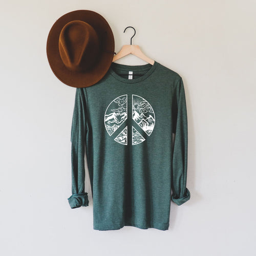 At Peace With Nature Long Sleeve