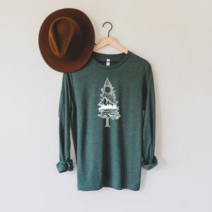 Lone Pine Tree Long Sleeve