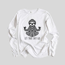 Load image into Gallery viewer, Zen Sloth Long Sleeve