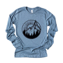 Load image into Gallery viewer, Mountain Sun Long Sleeve