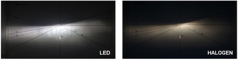 LED Vs Halogen