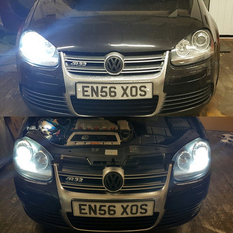 VW Golf R32 D2S 6000k Xenon HID Bulbs