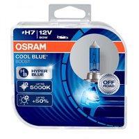Osram H7 Cool Blue Boost 5000k Xenon Effect 62210CBB-HCB (Pair)