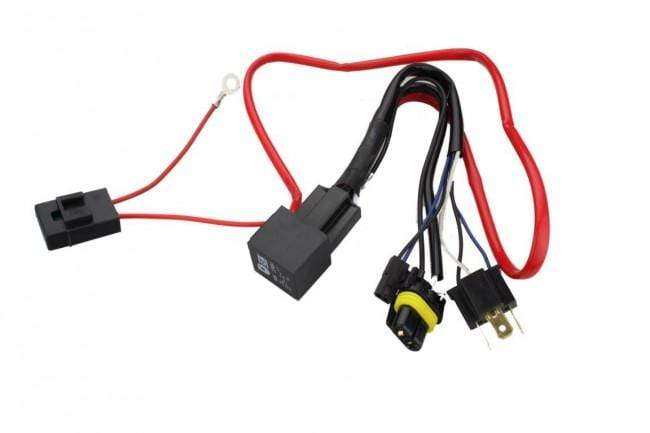 H4 Bi Xenon Motor Bike Cycle Xenon HID Wiring Harness Relay H Hid Wiring Harness on