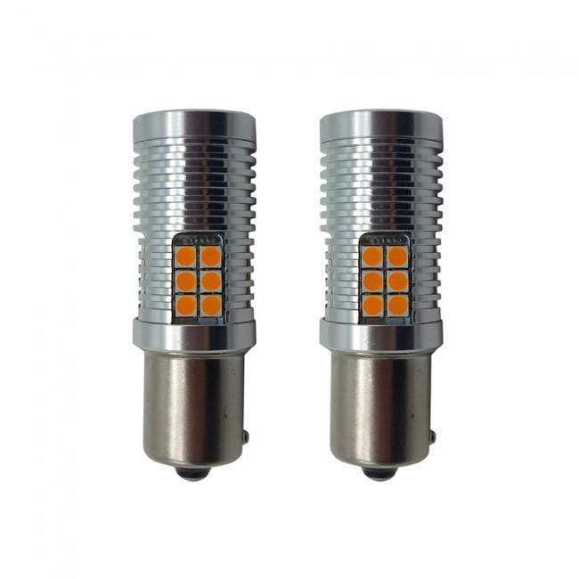 Ford Fiesta MK7 45W Amber LED Canbus Indicator Bulbs (Pair)