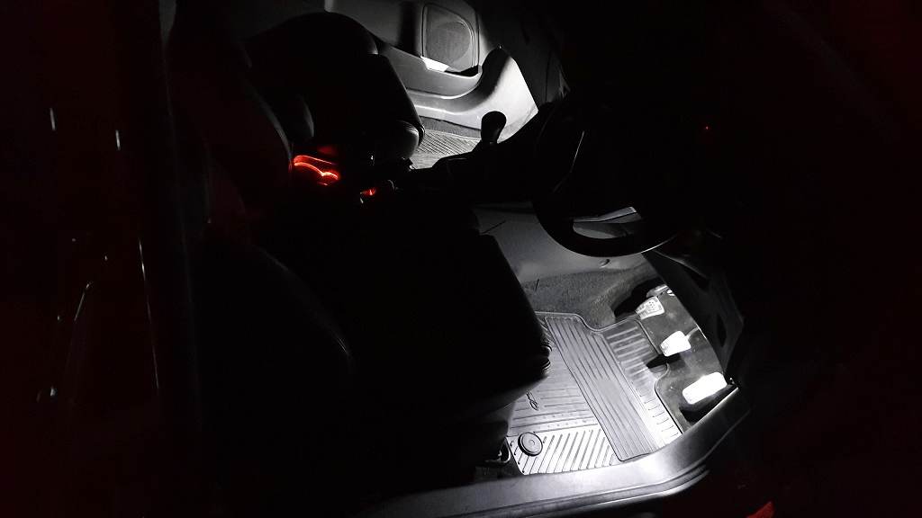 Ford Focus MK2 LED Footwell Lighting Kit