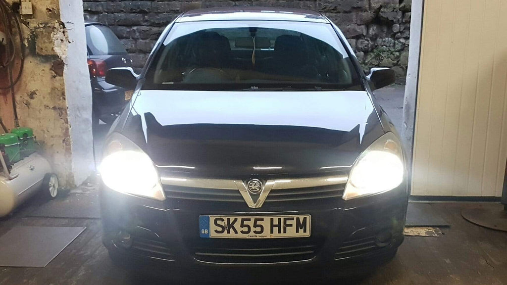 VAUXHALL CORSA D HID H7 5000k XENON LIGHTS CONVERSION KIT includes CANCELLERS