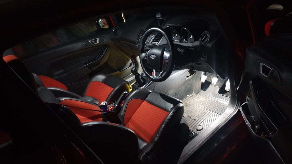 Ford Fiesta MK7 Complete Interior LED Package