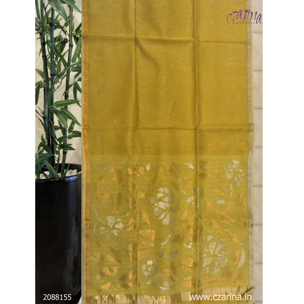 GOLDEN SILVER BAILOU SAREE