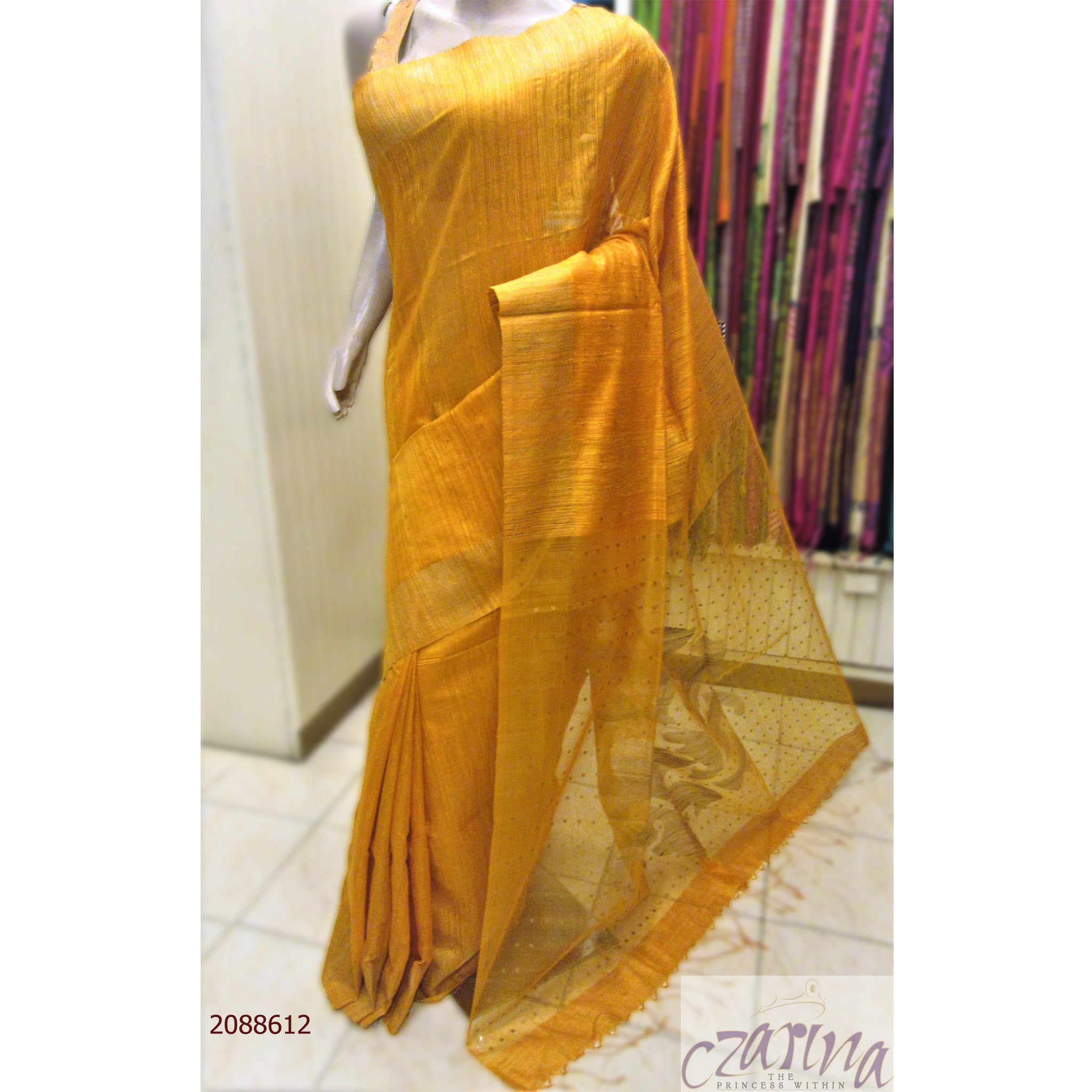 YELLOW BAILOU SAREE