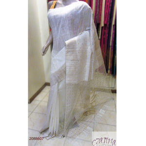 OFF WHITE BAILOU SAREE