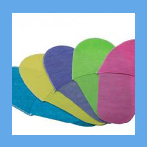 Paper Slippers NonWoven  Assorted Colors Case