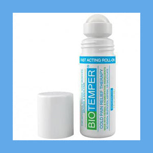 BioTemper Pain Relief Roll On 3 Oz. (Like Biofreeze)- NEW PRODUCT
