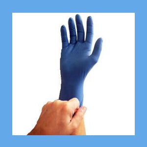Emerald Vinyl Exam Gloves, Powder Free, Non-Sterile