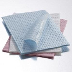 Foot Print Towels 3 ply Graham Medical Polyback 13.5
