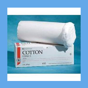 Cotton Absorbant Roll Sterile Lb