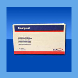 Tensoplast Elastic Tape 1 x 5 Yards, 32/Box BULK PACK