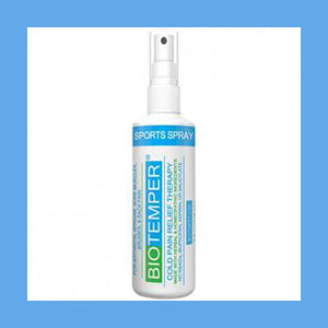 BioTemper Deep Penetrating Pain Relief Spray 4 Oz. (Like Biofreeze)- NEW PRODUCT