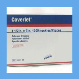 Coverlet Adhesive Bandages, Knuckles 1 1/2