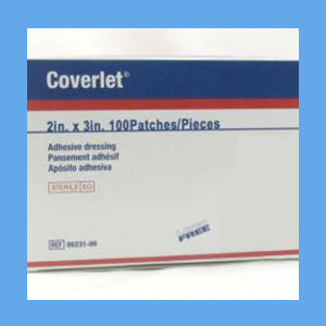 Coverlet Adhesive Bandages, Patches 2