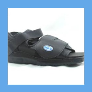 DARCO Surgical Shoe, Square Toe