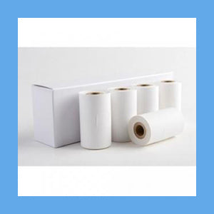 Doppler Adhesive Backed Paper Rolls 5/Box