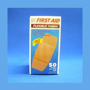 First Aid Flexible Fabric Bandages
