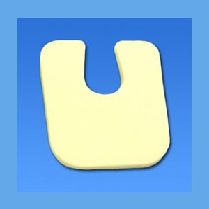 Metatarsal U Pad #105 Adhesive Backed, Foam 1/8