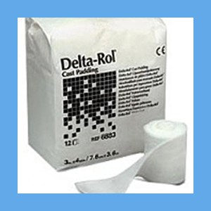 Delta-Rol Cast Padding, 3″ Sterile 20/pack