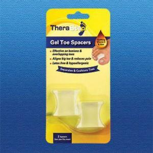 Silipos TheraStep Gel Toe Spacer One Size Fits Most 2/Pkg - Retail Packaging #7002