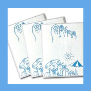 Tidi Toes Towels, 2-Ply Tissue and 1-Ply Poly