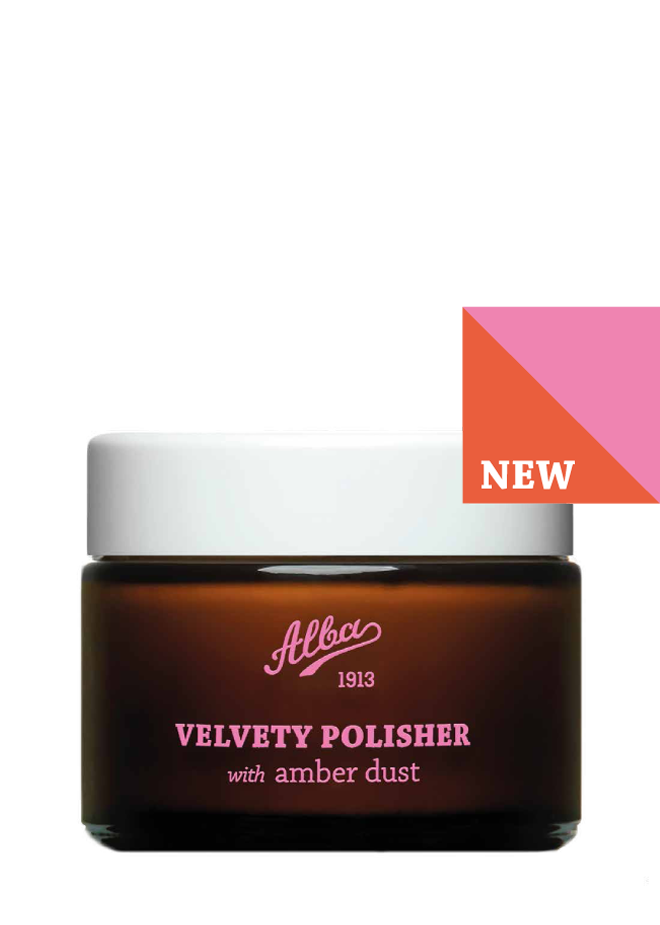 Velvety Polisher with amber dust - official Alba1913 online store
