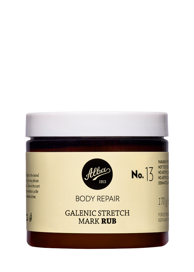galenic stretch mark rub - official Alba1913 online store